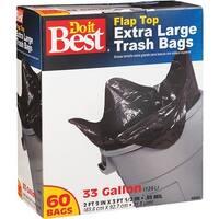 Presto Products 60Ct 33Gal Trash Bag 628263 Unit: EACH