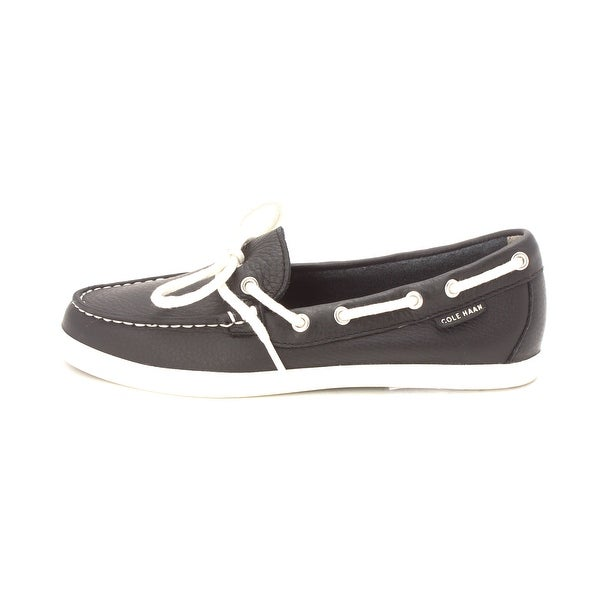Cole Haan Womens W02517 Closed Toe Boat Shoes - Black - 6