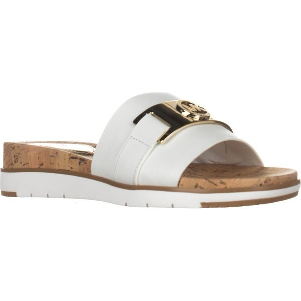4c7388a6f258 Shop MICHAEL Michael Kors Warren Flat Slide Sandals