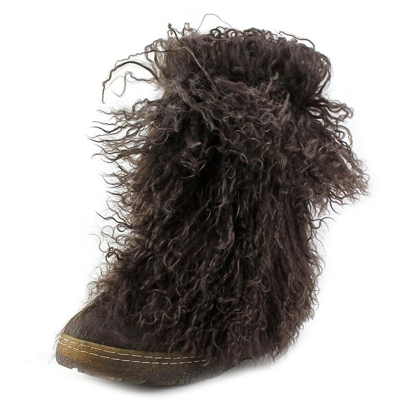 Bearpaw Boetis Round Toe Suede Winter Boot
