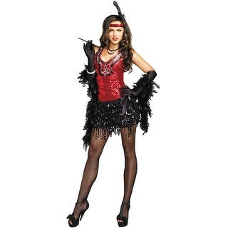 Dreamgirl What's Shakin' Adult Costume - Black/Red - X-Large|https://ak1.ostkcdn.com/images/products/is/images/direct/471ae06ca36c3f829f2bfeb6da85a02baf274f8c/Dreamgirl-What%27s-Shakin%27-Adult-Costume.jpg?impolicy=medium