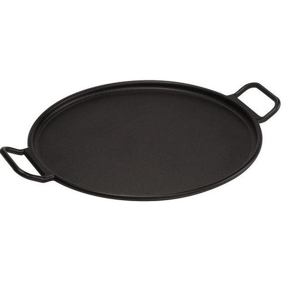 Lodge P14P3 Cast Iron Pizza/Bake Pan, 14""