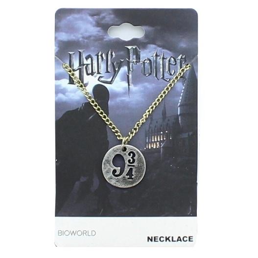 Harry Potter Platform 9 3/4 Cut Out Pendant Necklace - Silver