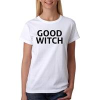 Good Witch Halloween Funny Women's White T-shirt