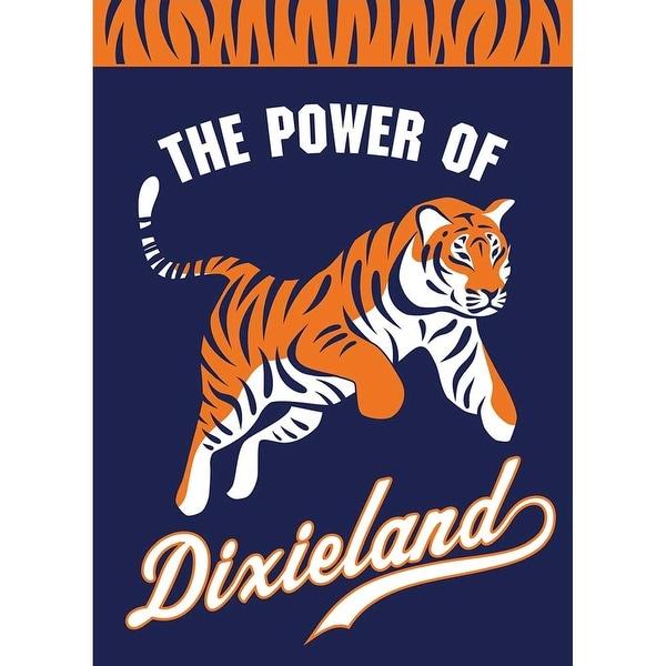 "42"" Bengal Tiger ""Power Of Dixieland"" Garden Flag - N/A"