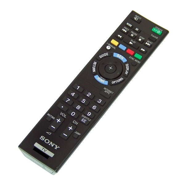 OEM Sony Remote Originally Shipped With: KDL40HX750, KDL-40HX750