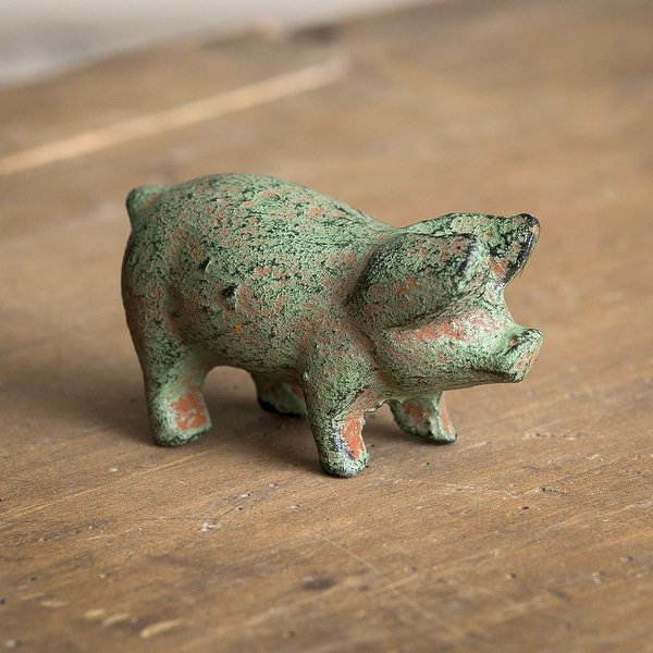 Cast Iron Piglet - Pack of 4
