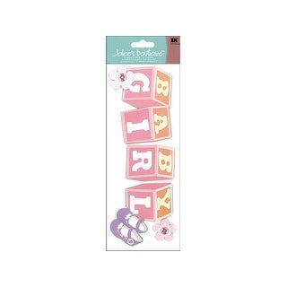EK Jolee's Boutique Title Wave Sticker Baby Girl
