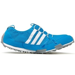 Adidas Women's Climacool Ballerina Solar Blue/Running White/Metallic Silver Golf Shoes Q46958