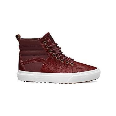 Vans Women's SK8-Hi 46 MTE Skate Shoes Pebble Leather Port Royale 11 B(M) US