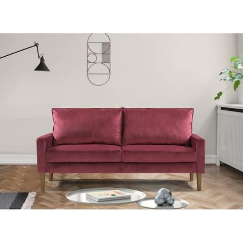 Salsbro Velvet Fabric Sofa
