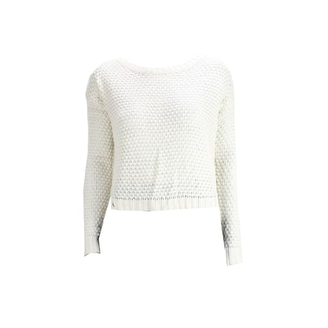 Freshman Nee Beige Knit Sweater
