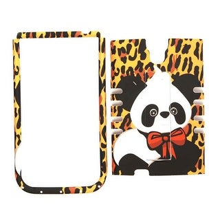 Unlimited Cellular Rocker Snap-On Case for Samsung Galaxy S4 (Yellow Giraffe wit