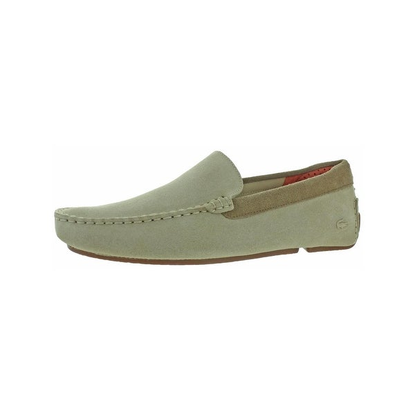 ab97eb6f7d2 Shop Lacoste Mens Piloter Driving Moccasins Suede Loafer - Free ...