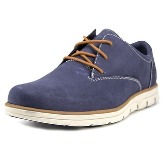 Timberland Earthkeepers Bradst Pt Chka Men  Round Toe Leather Blue Chukka Boot