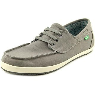 Sanuk Casa Barco Moc Toe Canvas Boat Shoe|https://ak1.ostkcdn.com/images/products/is/images/direct/4724162c5cd1db2a8c884752b3d59bc83b2f62f3/Sanuk-Casa-Barco-Men-Moc-Toe-Canvas-Gray-Boat-Shoe.jpg?impolicy=medium