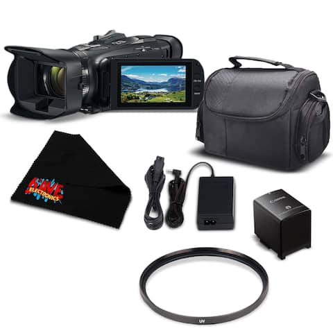 Canon VIXIA HF G21 Full HD Camcorder 2404C002 - Essential Bundle