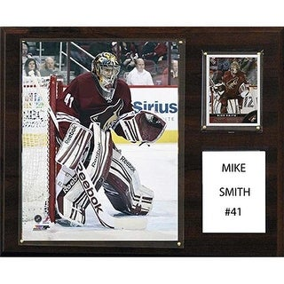NHL 12 x 15 in. Mike Smith Phoenix Coyotes Player Plaque