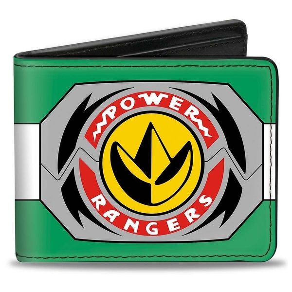 Power Rangers Green Ranger Dragonzord Morpher Bi Fold Wallet - One Size Fits most