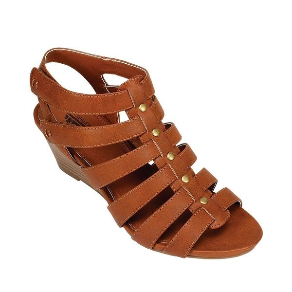 White Mountain Vivaldi Gladiator Wedge Sandal - 9.5 b(m)