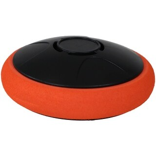 Sunnydaze Tabletop Air Hockey Electronic Rechargeable Hover Puck - 2-Inch - Black