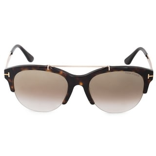 Link to Tom Ford Adrenne FT0517 52G 55 Semi-Rimless Sunglasses - 55mm x 19mm x 140mm Similar Items in Women's Sunglasses