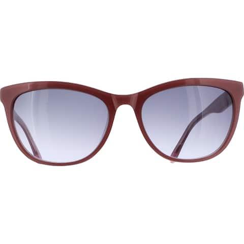 BCBGMAXAZRIA Womens Appeal Designer Sunglasses Non-Polarized Square - Blush - O/S
