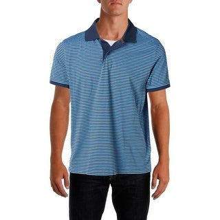 Tommy Hilfiger Mens Striped Pullover Polo Shirt - L