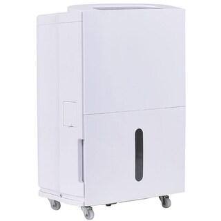 Costway Compact 50 Pint Dehumidifier 3 Speed Fan Timer Washable Air Filter Home 8L Tank