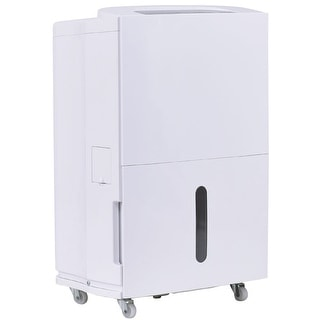 Costway Compact 70 Pint Dehumidifier 3 Speed Fan Timer Washable Air Filter Home 8L Tank