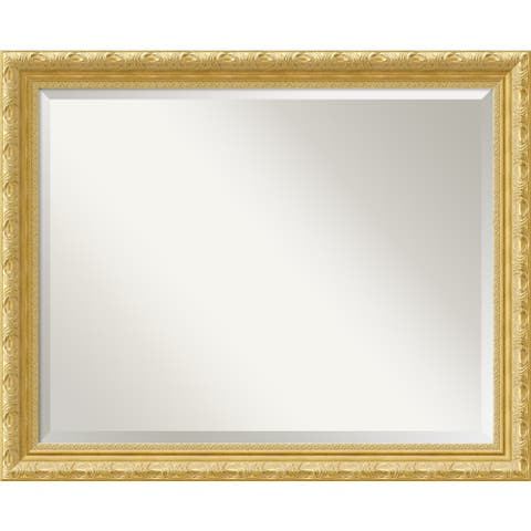 Wall Mirror Large, Versailles Gold 32 x 26-inch - large - 32 x 26-inch