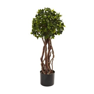 Nearly Natural 2.5' English Ivy Topiary UV Resistant
