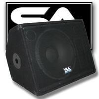 "Seismic Audio 15"" Floor/Studio/Stage MONITOR  PA/DJ Speaker Band"