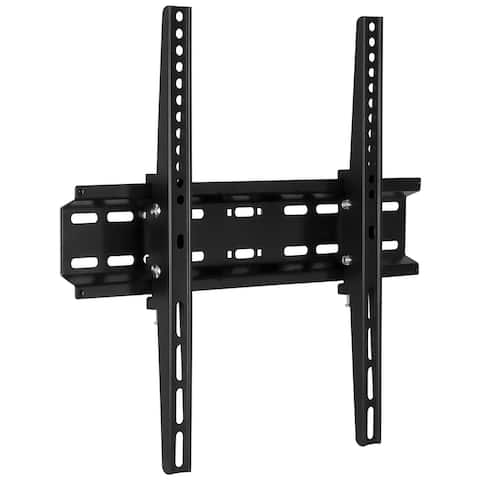 Tilting Flatscreen Wall Mount TV for LED, LCD, and Plasma televisions - Black