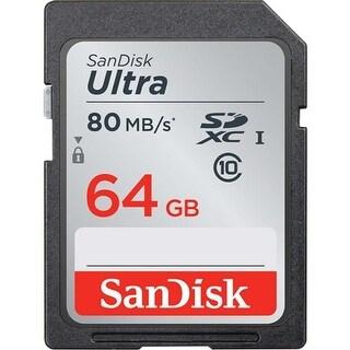 SanDisk 64GB Ultra UHS-I Class 10 SDXC Memory Card
