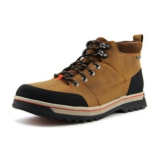 Clarks Ripway Top Gtx Men  Round Toe Leather Brown Hiking Boot