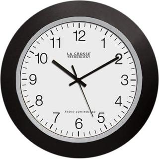 "La Crosse Technology WT-3902B Analog Wall Clock, 10"""
