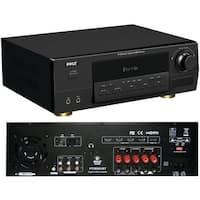 PYLE PRO PT595AUBT Bluetooth(R) 5.1-Channel 350-Watt HDMI(R) Digital Amp with Receiver