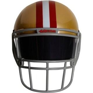 NFL Gear Helmet Style Fan Mask: San Francisco 49ers - GOLD