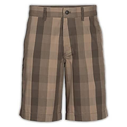 The North Face Men's Narrows Plaid Short, Weimaraner Brown, 36 Regular