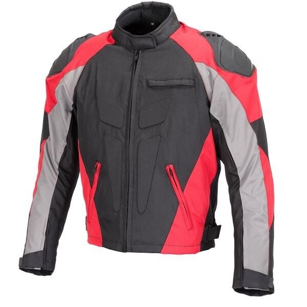 Men Motorcycle Four Season Textile Race Jacket CE Protection MBJ062