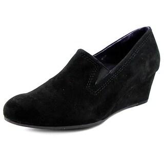 Vaneli Lara N/S Open Toe Synthetic Wedge Heel
