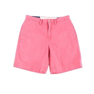 Polo Ralph Lauren Mens Flat Front Classic Chinos Shorts