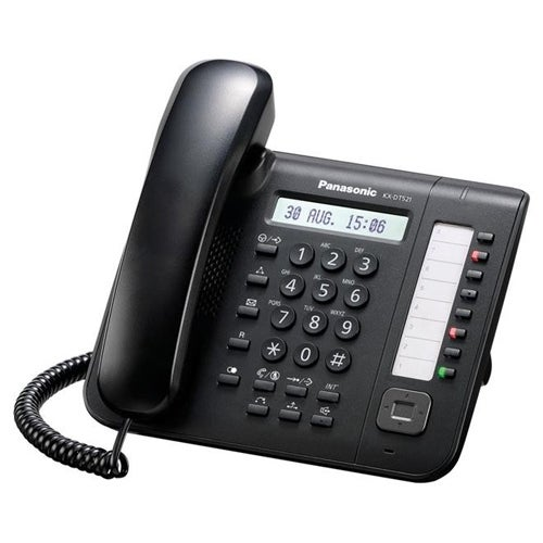 Panasonic KX-DT521 Black 8 Button 1-line Digital Telephone