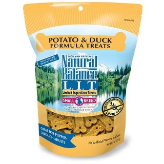 Natural Balance Small Breed Duck & Potato Treats 8oz