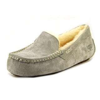 Ugg Australia Ansley Women Moc Toe Suede Gray Slipper