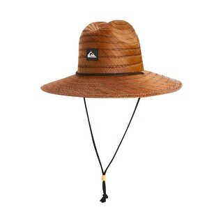 Quiksilver Mens Straw Pierside Straw Hat