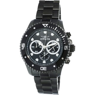 Invicta Men's Pro Diver 21792 Black Stainless-Steel Diving Watch