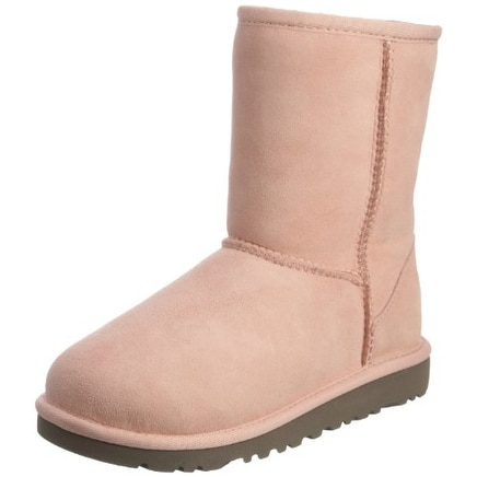 ugg classic short boots pink