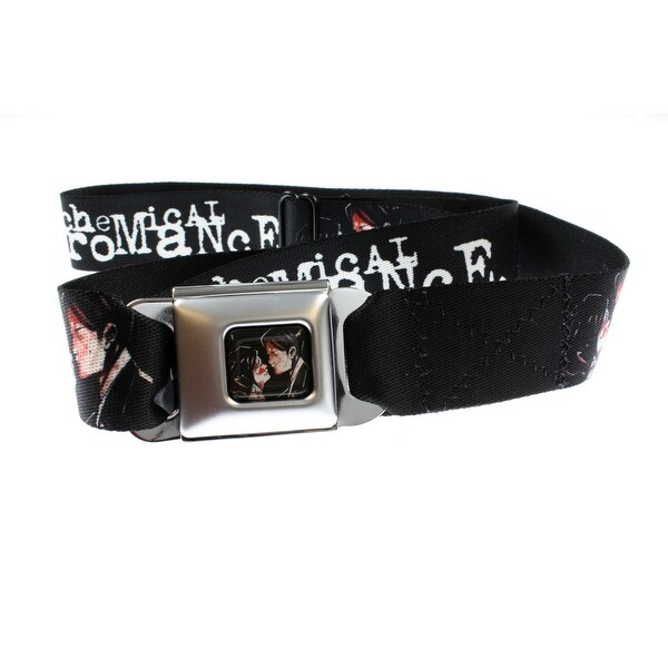 My Chemical Romance Three Cheers for Sweet Revenge Seatbelt Belt-Holds Pants Up